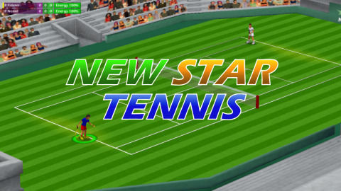 new star games tennis