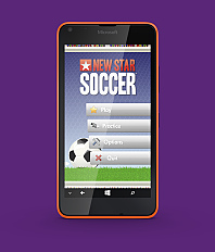 New Star Soccer now on Windows Phones